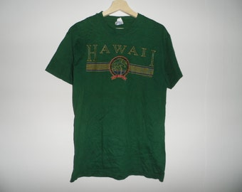 Vintage 1990s Hawaii aloha t shirt Medium Size