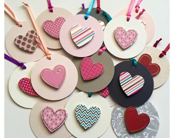 Heart Gift Tags - 5 pack