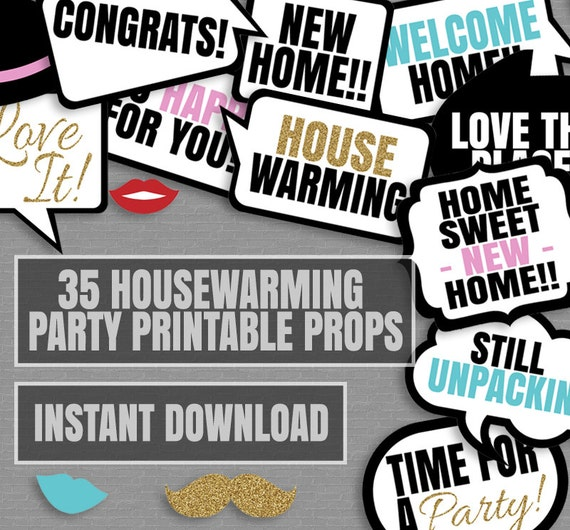 17 Amazing Ideas for the Best Housewarming Party Ever il 570xN 1094387479 q89t jpg