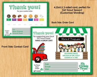 Girl Scout Thank You/Order!