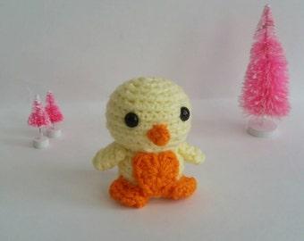 Crochet Mini Chick Plush Amigurumi