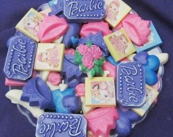 Princess Barbie chocolate candy tray