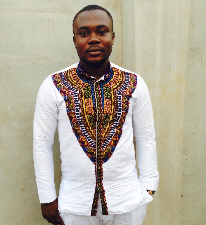 mens dashiki shirt dashiki shirt african print by