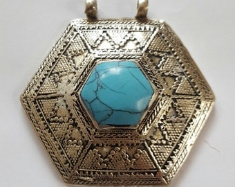 Afghan  hand made pendent