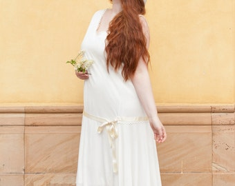 Flapper dress cream size. 42/44