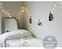 Gift for Her | Bedroom Fairy Lights Bedroom Wall Decor Lights | Indoor String Lights | Home Decor Lighting Battery Operated (A1)