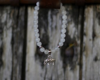 Bracelet *Çiva*  jade crystal healing, gemstone