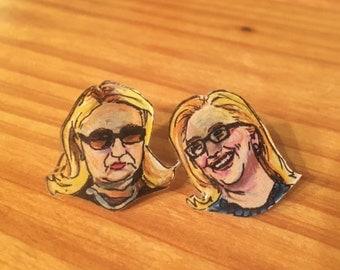 Hillary Clinton Earrings