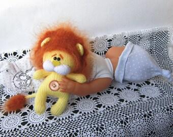 Little Amigurumi Lion : Knit amigurumi lion etsy