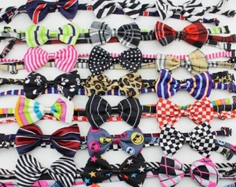 Baby boy bow tie lot (4)