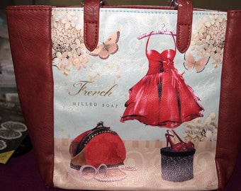 Soiree Rouge Tote Bag