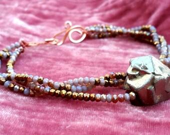 Crystal Fairy Beaded Bracelet