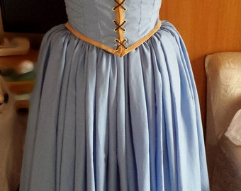 belle once upon a time costume