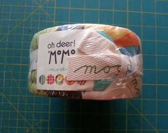 Momo Oh Deer Jelly Roll for Moda, OOP and VHTF