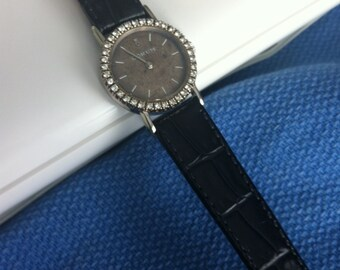 Lady's Corum 18K white gold Diamond Watch