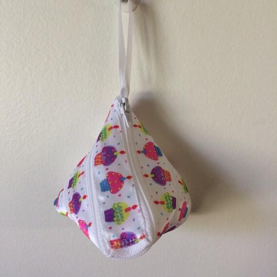 Cupcake Celebration Zipper Pouch/Purse/Bag/Pocket