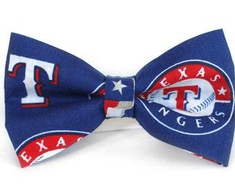 Texas Rangers Bow Tie