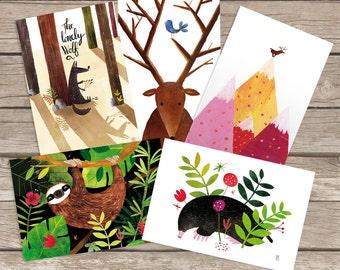 Postcards collection nº4