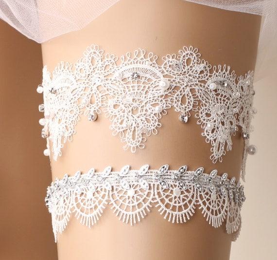 Wedding Garter Bridal Garter Toss Garter Lace By GadaByGrace