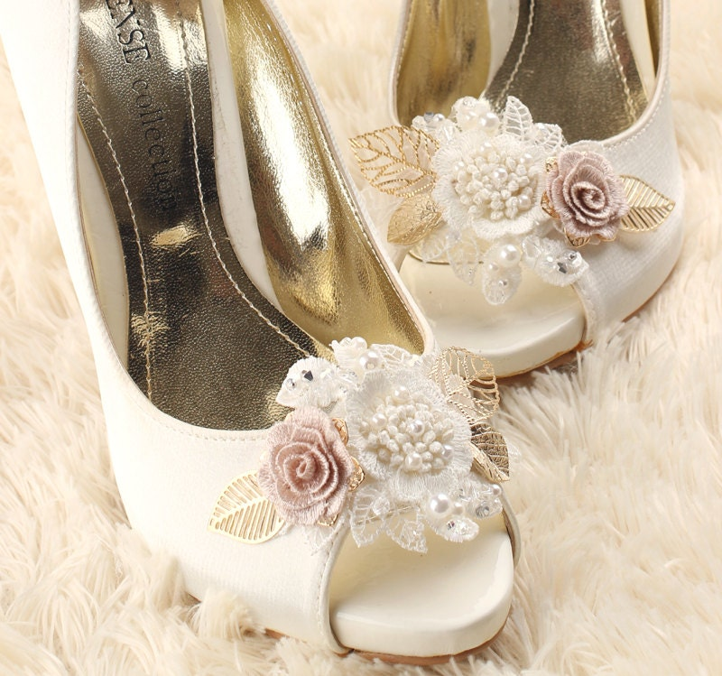 Wedding Shoes Australia: Wedding Shoe Clips Bridal Shoe Clips White Shoe Clips