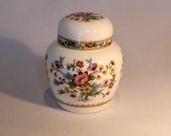 Coalport Ming Rose ginger jar - original from the 1980's