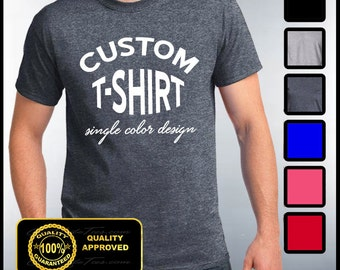 Custom t shirts | Etsy