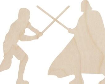 Luke Skywalker & Darth Vader Cake Topper