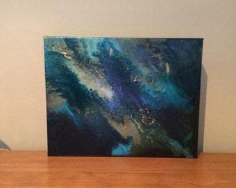 Resin Art on Canvas