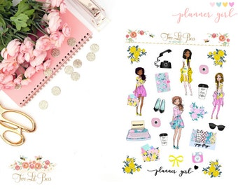 C135 // Planner Girl : Decorating Stickers for your Life Planner