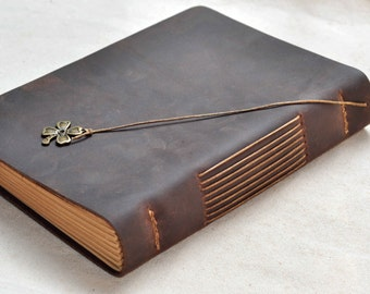 Leather Journal or Sketchbook