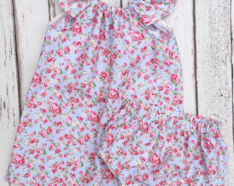 Flutter Dress & Bloomer - Baby and Toddler clothing