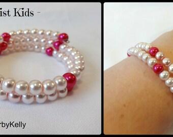 Pink Wrist Twist, Childrens bracelet