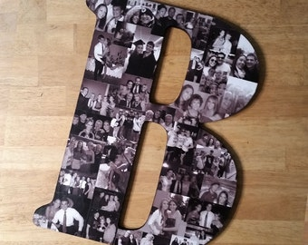 Photo Collage, Letter Photo Collage, Photo Collage Letter, Custom Photo Collage, Collage, Personal Photo Collage, Custom Photo Letters