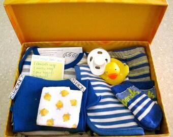 Sailor Boy Blue Babybox