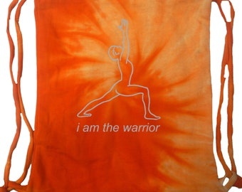Yoga Clothing For You Mens Bag Line Warrior Tie Dye Bag - 9500-LINEWARRIOR