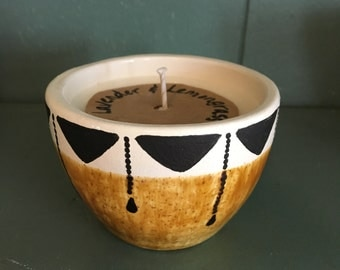 All natural Lavender and Lemongrass Soy candle