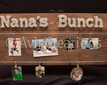Family Picture Display Board