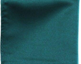 "Sapphire Solid 10"" x 10"" Pocket Square Handkerchief Hankie"