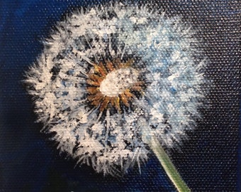Dandelion- 4x4 - Price Includes US shipping