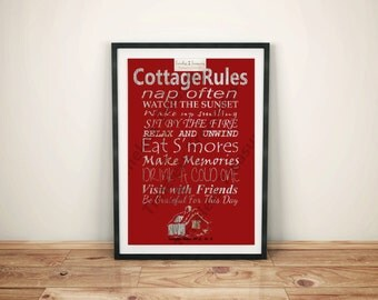 Just For Fun - Cottage Rules