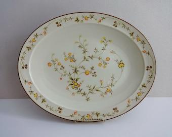 "Noritake CHAMPAGNE 13"" Oval Serving Platter"