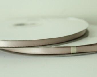 1/4 inch Vanilla Satin Ribbon / 100 yards