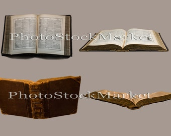 Magic Books PNG, Book Cut outs, Christmas Fantasy, Magical Composite, Magical Book PNG, Transparent Background, Photoshop, Large Book PNG