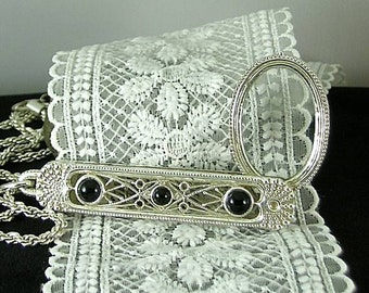 Folding Filigree Magnifier - Renaissance Antiquities - Victorian