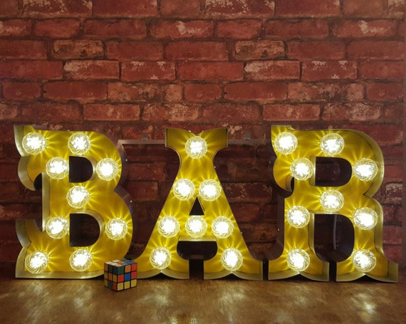 light up letters sign marquee light up letters bar sign 17487 | il 570xN.1017549079 ls9z