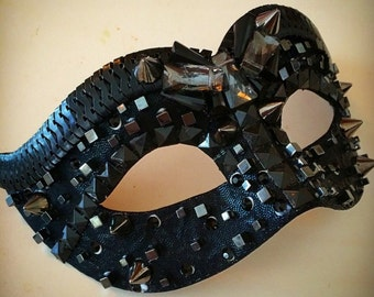 Punk-glam mask