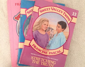 Vintage Sweet Valley Twins And Sweet Valley High Books