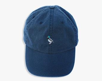Navy Blue Baseball Cap with Mallard Logo (Ilona USA)