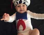 Stay Puft Marshmallow Baby Onesie Costume