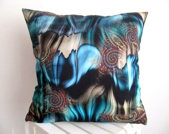 SALE!!Gothic Pillow Cover Printed Pillow Case Abstract Art Cushion Cover Throw Pillow Cover Decorative Pillow Cover Accent  Sofa Pillow 18''